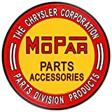 Nostalgic Automotive Tin Metal Sign : Mopar Parts Accessories , 12x12 by Poster Discount