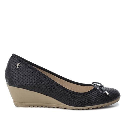 información para 0f218 74c68 Refresh Zapato Bailarina Mujer con Cuña 064431 Negro (41 ...