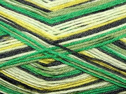 Sirdar Heart y lenguado lana para tejer calcetines 4 capas 162 diseño abstracto de Nina may