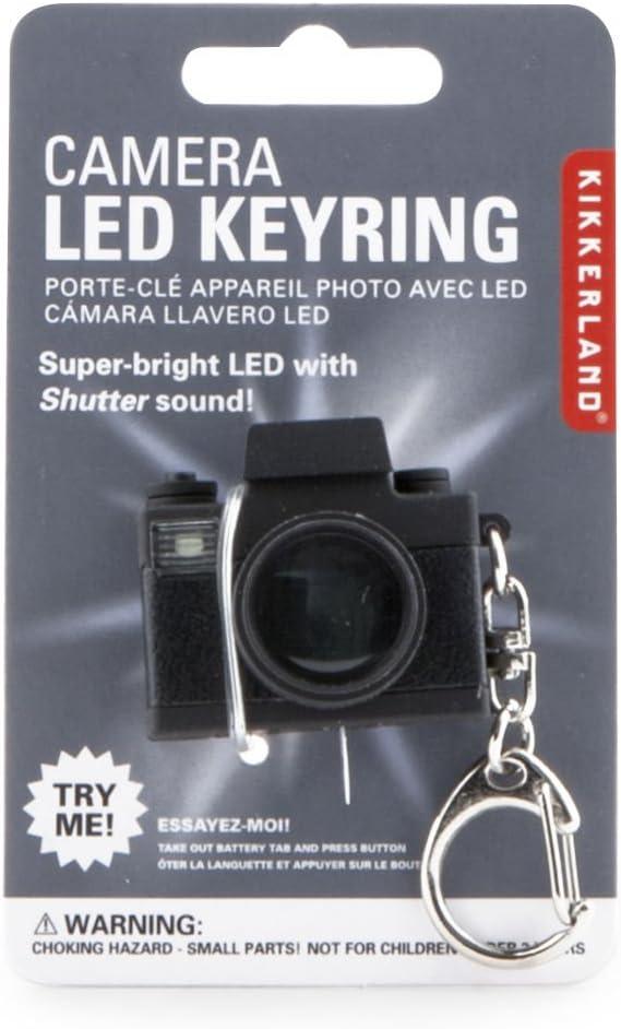 Kikkerland KRL15-CDU Camera LED Keychain