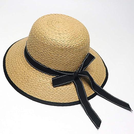 10be72a3e iPOGP Summer Parent-Child Women Baby Kids Girl Beach Bow Weaving ...