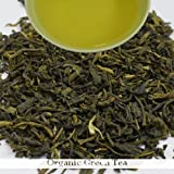 Loose Leaf Organic Green Tea | 100gram (3.52ounce) Bio - Organic Regular Green Tea with Antioxidant Properties and for Weight Loss, Slimming for both Men and Women | Darjeeling Tea Boutique
