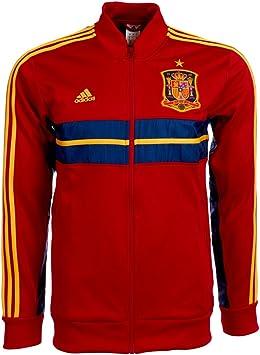 Adidas - ESPAÑA Chaqueta Himno 13/14 Hombre Color: Red Talla: XS - 34-36