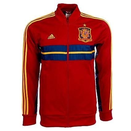 2013-13 Spain Adidas Anthem Jacket (Red): Amazon.es: Deportes y ...
