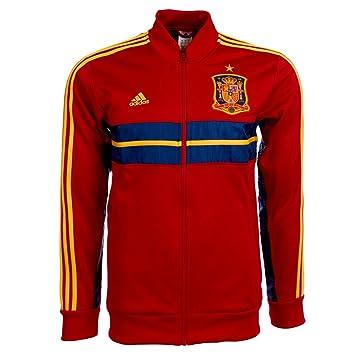 Adidas - ESPAÑA Chaqueta Himno 13/14 Hombre: Amazon.es: Deportes y aire libre