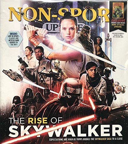 NEWEST GUIDE: Beckett Non-Sports Update Bi-Monthly Price Guide (November 21, 2019 release/Rise of Skywalker cover) from Beckett