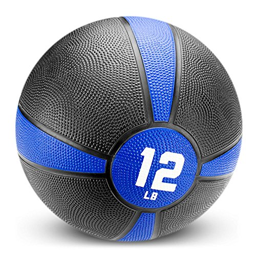Crown Sporting Goods Tuff Grip Rubber Medicine Ball (12 LB)