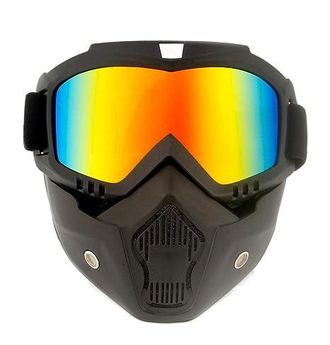 Hombres Mujeres De Snowboard De Motos De Nieve Gafas De Máscara De ...