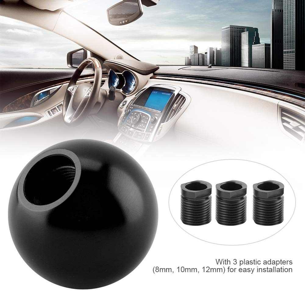 Forma universale a forma di palla con pomello del cambio manuale Qii lu Pomello del cambio titanio