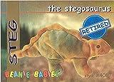 TY Beanie Babies BBOC Card - Series 1 Retired (BLUE) - STEG the Stegosaurus
