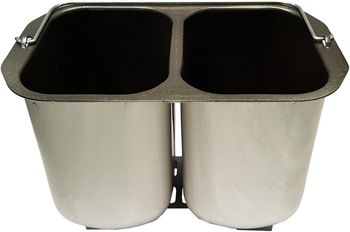 Moule double pour 2/petits pains crochets de p/étrissage machine /à pain b3990//B3955