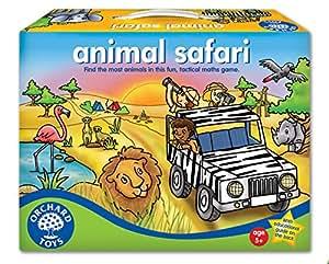 Orchard Toys Animal Safari - Juego de mesa de táctica con animales de la sabana