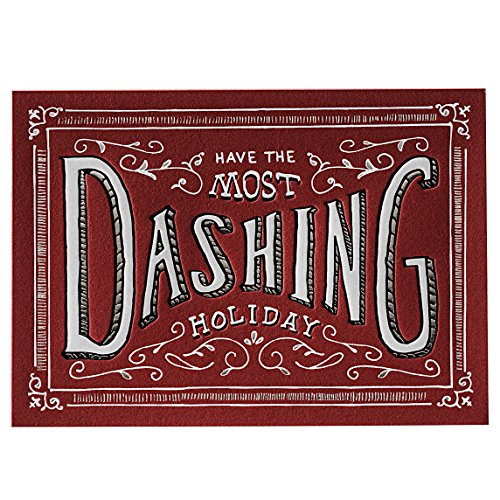 Elum Designs Most Dashing Letterpress Holiday Cards (EH378) (Elum Designs)