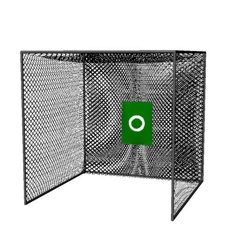 Cimarron Sports Training Aids 10x10x10 Masters Golf Net with Frame Kit