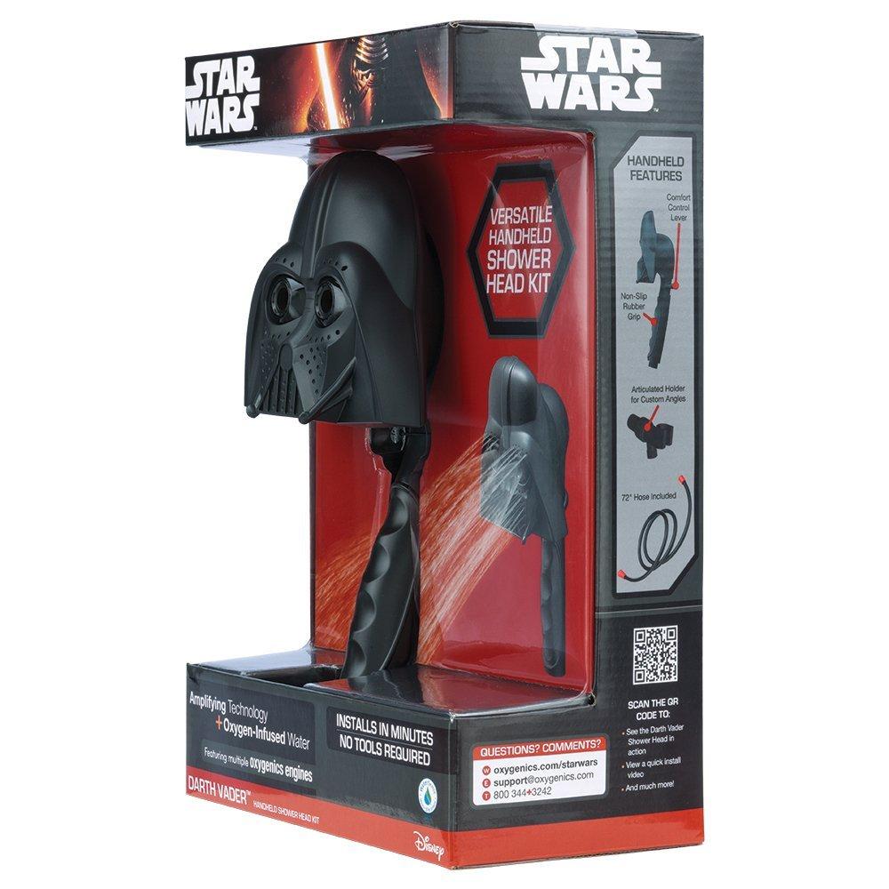 Handheld Shower Head TM Oxygenics 74151 Darth Vader