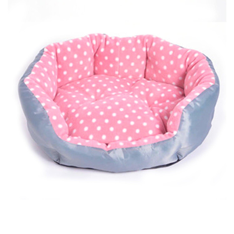 LuoKa Washable Pet House Dog Bed Cat Bed Cake Style Full Year Use