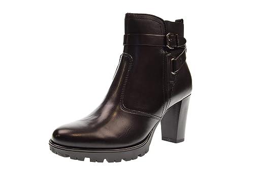 VALLEVERDE Zapatos Botines de Mujer 46201 Negro Talla 35 Negro: Amazon.es: Zapatos y complementos