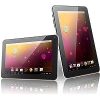 """Springdoit Tableta de 9 """"de Cuatro núcleos Android 4.4 1 + 16GB Accesorios de Estudiante portátil - Blanco"""
