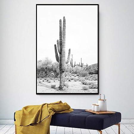 RTCKF Planta Desierto Cactus Arte de la Pared Lienzo Pintura ...