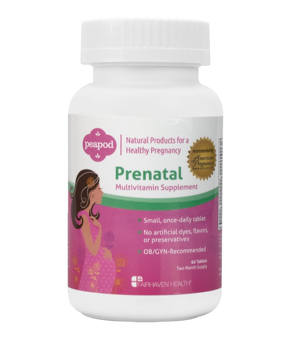 Fairhaven Health Peapod Prenatal (Formerly Pregnancy Plus Prenatal) (60 Tablets, Two Months Supply)