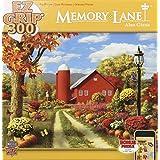 MasterPieces Memory Lane Autumn Splendor EZ Grip Jigsaw Puzzle, Art by Alan Giana, 300-Piece