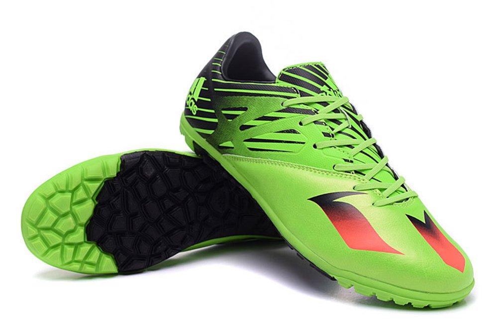 FRANK Schuhe Herren Fußball Stiefel Messi 15,3 tf-core schwarzsolar greensolar rot Fußball