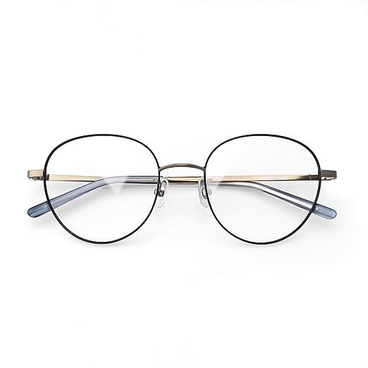 f0afc8ea7 Komehachi - Heart Shape Round Slim Light-Weight Women Prescription Clear  Lens Eyeglasses Frames (
