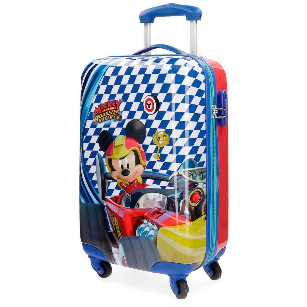 Mickey Race Valigia per bambini, 55 cm, 33 liters, multicolore (Multicolor) Disney 4281461