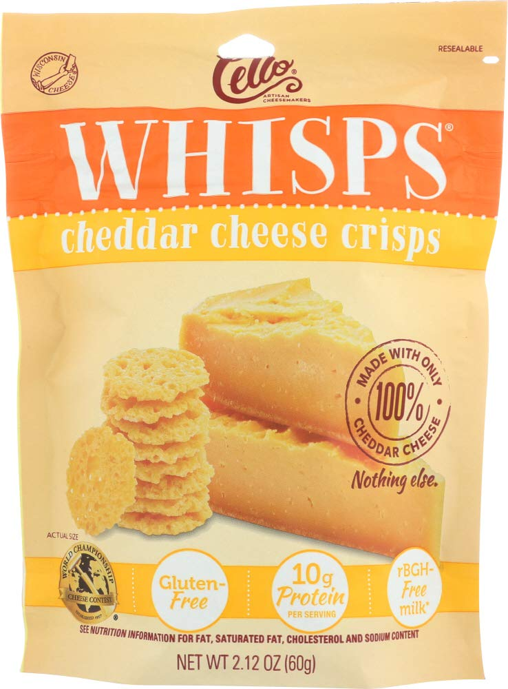 (NOT A CASE) WHISPS Cheese Crisps Cheddar
