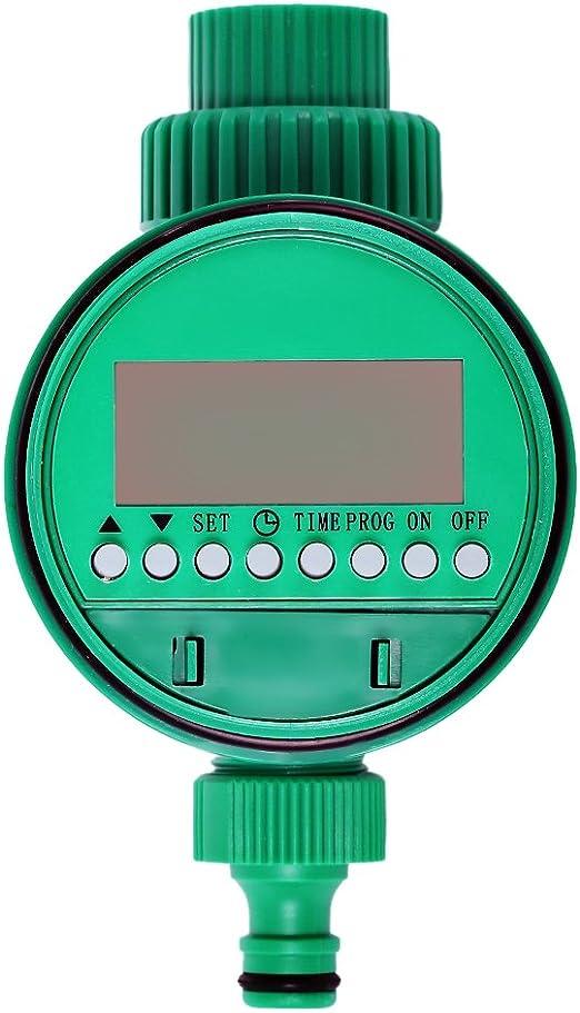 Temporizador de riego automático controlador hogar aspersor suministros de jardín: Amazon.es: Jardín
