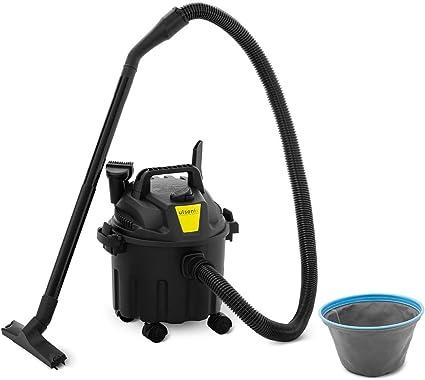ulsonix Aspiradora En Seco y Húmedo Aspirador Industrial FLOORCLEAN 10C (Fabricado en plástico, Filtro de vellón, 1.000 W, 16 kPa, Sin Bolsa, 10 L): Amazon.es: Bricolaje y herramientas