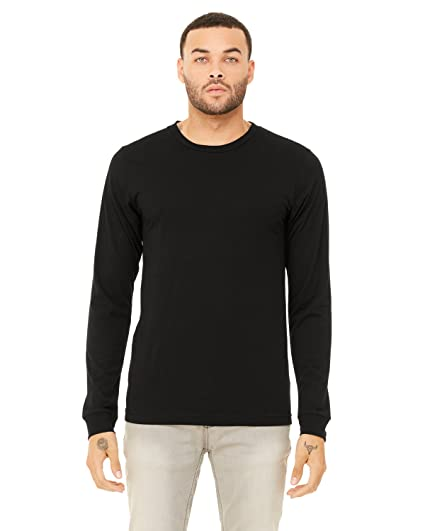 f8201f08b Image Unavailable. Image not available for. Color: Bella + Canvas Unisex  Jersey Long-Sleeve T-Shirt ...