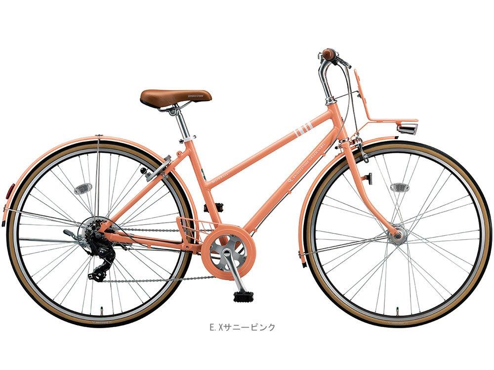 ブリヂストン(BRIDGESTONE) マークローザ7S 27インチ MRS77T クロスバイク 450mm EXサニーピンク 3542 B01NCL1CRP