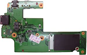 Laptop USB DC Jack and I/O Board for DELL Inspiron 15R N5010 M5010 M501R P10F 48.4HH02.011 WAN Card Slot