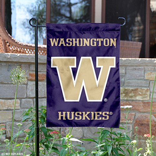 (College Flags and Banners Co. Washington Huskies Garden Flag)