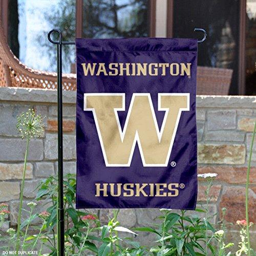 College Flags and Banners Co. Washington Huskies Garden Flag