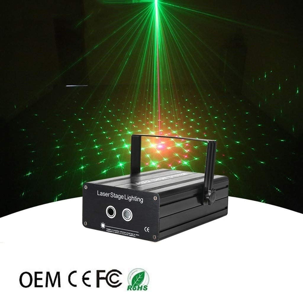 LED 40 Pattern 12w Red And Green Double Head Light Suitable For Stage Disco Bar Ktv Room Light TPTPT Disco Lights