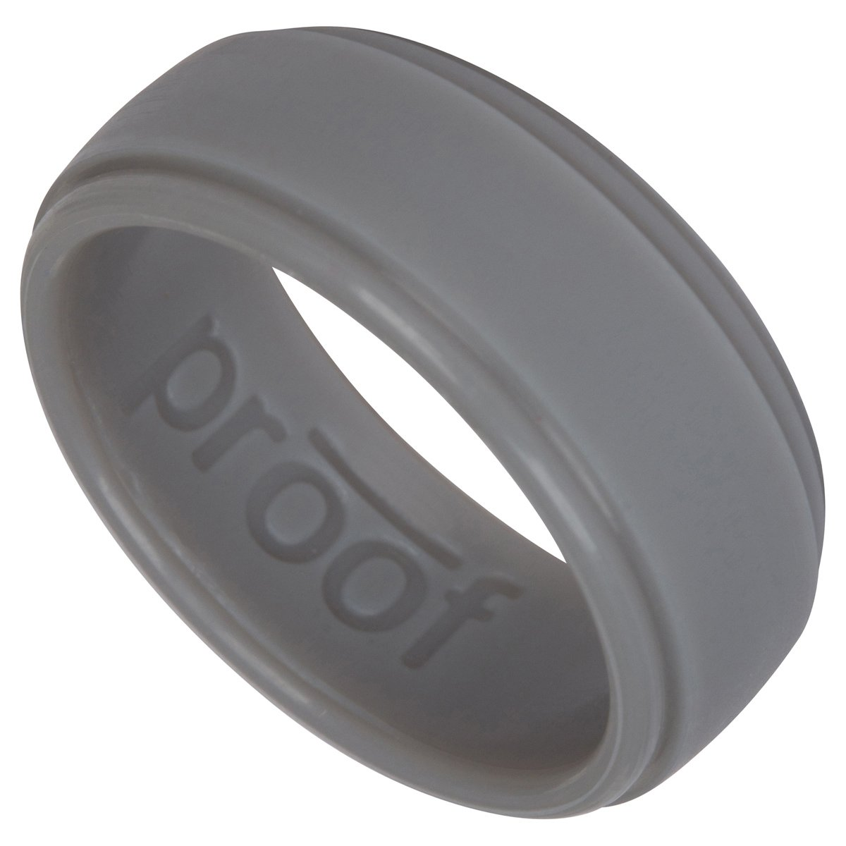 Amazon : Men's Silicone Wedding Ring By Proof  Protects Your Hands &  Proves Yourmitment With Unique, Sleek Design For Your Active Lifestyle