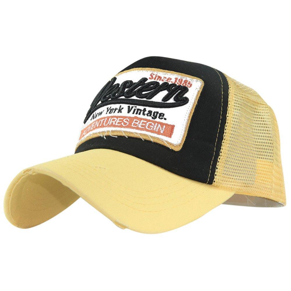 Amazon.com: Gifts For Men! Charberry Mens Embroidered Letter Mesh Baseball Cap Visor Summer Cap Mesh Hats For Men Women (Navy): Baby
