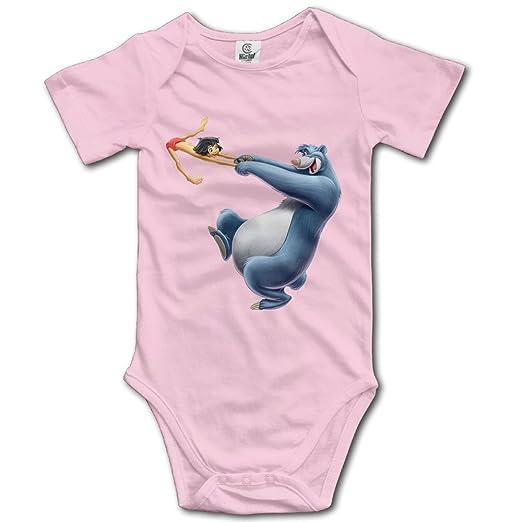 Amazon Com The Jungle Book Bear Baloo Cute Kids Baby Bodysuits