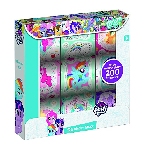 - MPL (Music Performance Laboratory) MLP My Little Pony Sticker Box 130166