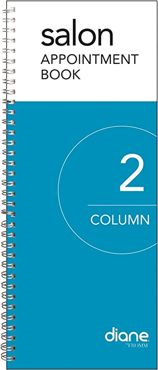 30 COLUMN APPOINTMENT BOOK \u2022  Hairstylist Appointment book \u2022  Yearly appointment book \u2022 Scheduling \u2022 salon multiple person appointment book