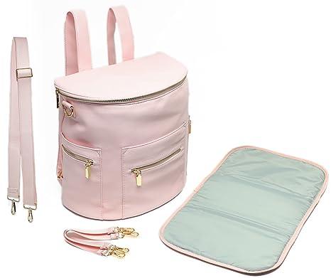 Miss Fong piel cambiar pañales bolsas mochila de viaje con ...