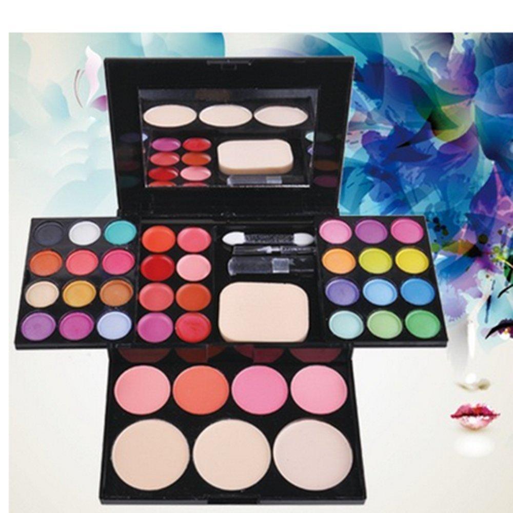 Aiweikang Palette Cosmetic Thirty-nine Color Blusher Lipstick Women Fashion Eyeshadow