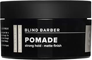 product image for Blind Barber 90 Proof Pomade - Matte Styling Pomade for Men - Strong Hold, Natural Finish Texture Paste with Hops & Tonka Bean - Water Based & Free of Greasy Oils (2.5oz / 70g)