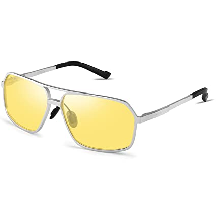 7c81eb37b2 Amazon.com  Best Night Driving Glasses Polarized Anti-glare