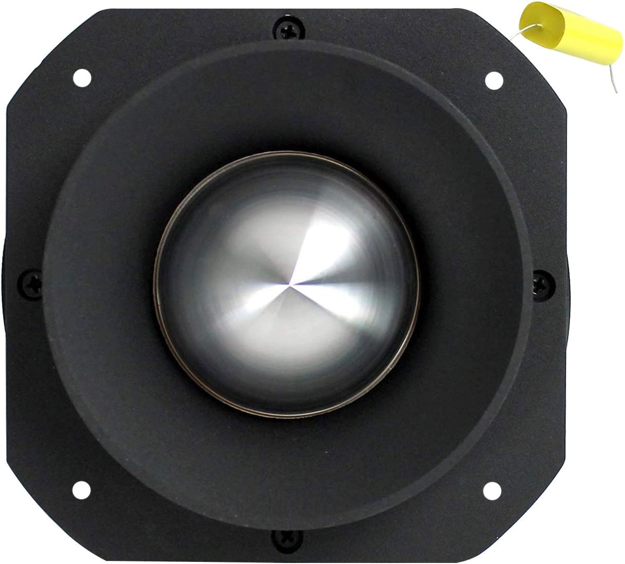 "VOYZ 600 Watt Super Tweeter 2KHz VZ-47A 25KHz 2/"" Piezo Horn Heavy Duty Bullet Tweeter Titanium Diaphragm 4-8 ohms with Crossover Capacitor"