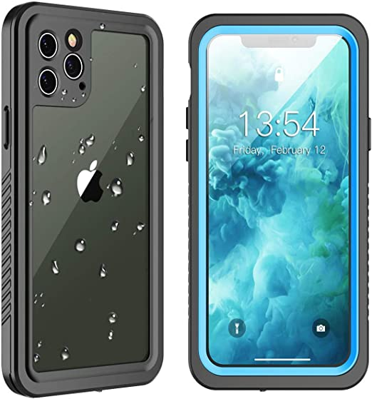 dustproof waterproof for iPhone 12 Pro waterproof case 360/° full body protection fully sealed underwater cover 6.1inch suitable for iPhone 12 Pro snowproof shockproof