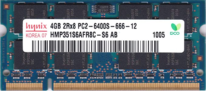 PC2-6400 1GB DDR2-800 RAM Memory Upgrade for The Biostar USA N Series NF500 AM2G