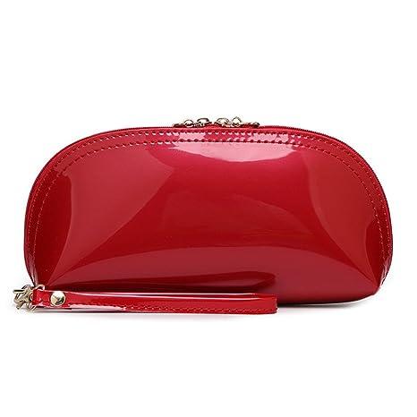 Borsa a Mano Spalla Donna Elegante Pelle Nera Blu Rossa Rosa Verde Piccola  Borsetta Ragazza da c9f60a4db46